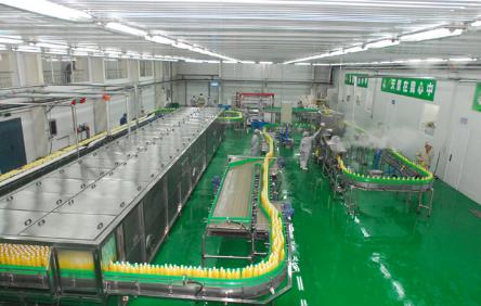 生产车间依其清洁度要求应分为:非食品生产处理区(办公室,配电,动力